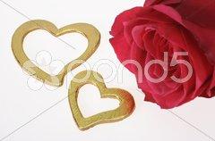 Liebe Herz Valentinstag Stock Photos