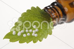 Naturmedizin Globuli Stock Photos