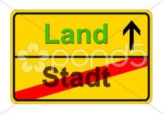 Stadt Land Stock Photos