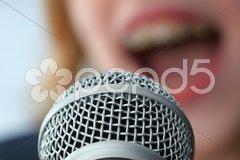 Mikrofon Stock Photos