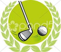 Golf Champ Stock Photos