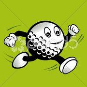 Happy golf Stock Photos