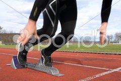 Sprintstart Stock Photos