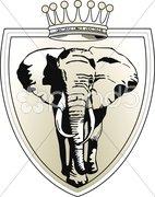 Elefant krone Stock Photos