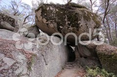 Felsen im Bald Rock NP Stock Photos