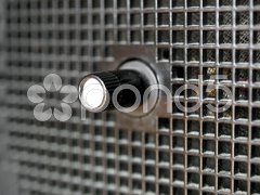 Old AM / FM radio tuner Stock Photos