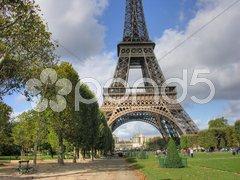 Paris in October Stock Photos