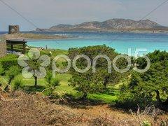 Sardinia Coast in summer, Italy Stock Photos