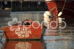 Boat in Nantucket, 2008 Stock Photos