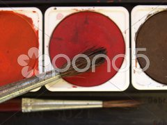 Painting tools Stock Photos