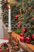 Christmas Decorations, Austria Stock Photos