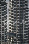 Petronas Towers, Kuala Lumpur, August 2009 Stock Photos