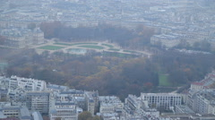"""Palace """"Luxembourg"""" / Paris, France Stock Footage"""