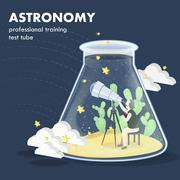 Astronomy concept Stock Illustration