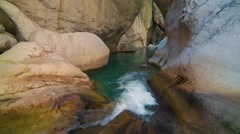 View inside a Goynuk canyon. Stock Footage