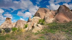 Unreal world of Cappadocia. Stock Footage