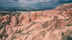 Unreal world of Cappadocia. Stock Footage