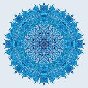 Vector Mandala. Vintage decorative element. Stock Illustration