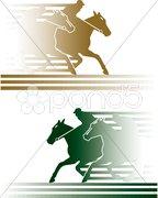 Pferderennen Stock Photos