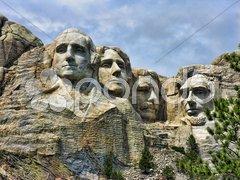 Mount Rushmore, South Dakota Stock Photos