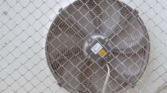 Air conditioning fan grid for slow motion video Stock Footage