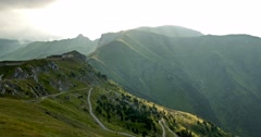 Epic Views At Fort Central, France Stock Footage