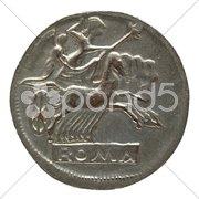Roman coin Stock Photos