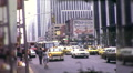 People Hail Taxi Cabs on Street Manhattan NYC 1970s Vintage Film Home Movie 9972 HD Footage