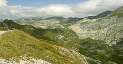 Tende, Western Alps, France Stock Footage