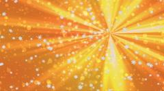 Christmas snowfall seamless loop video Stock Footage