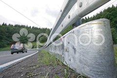 Leitplanke Stock Photos