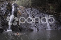 Dinner Falls in Atherton Tablelands Stock Photos
