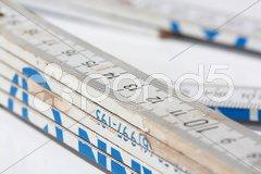 Gliedermaßstab Stock Photos