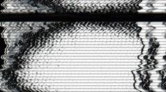 Abstract TV malfunction - TV Noise 1050 HD, 4K Stock Video Stock Footage