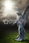 Religious angel Stock Photos