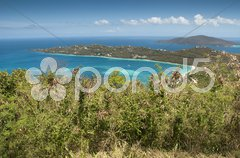 Colours of Saint Thomas Stock Photos