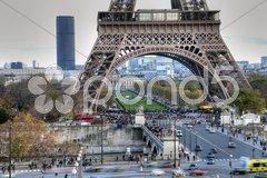 Paris in Winter Stock Photos