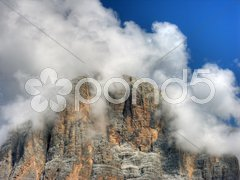 Dolomites Mountains, Italy, Summer 2009 Stock Photos