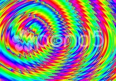 Hintergrund in Regenbogenfarben Stock Photos