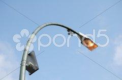 Strassenbeleuchtung Stock Photos