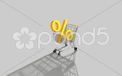 Prozente Stock Photos