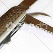 Taschenmesser ausgeklappt Stock Photos