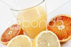 Orangensaft Stock Photos