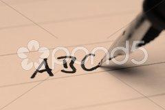 Alphabet Stock Photos