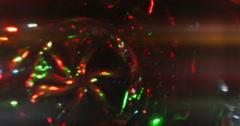 Light Leaks Element 412 Stock Footage