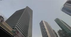 Petronas Towers and Suria KLCC in Kuala Lumpur, Malaysia Stock Footage