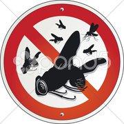 Keine Fliegen Stock Photos