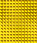 Golden pyramid pattern vector illustration Stock Illustration