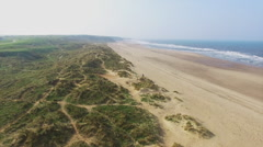 Landscape with beach Stock Footage