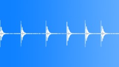Guns 38 Calibre Shot Cowboy Rounds Report Long Echo x6 BG Train L Sound Effect